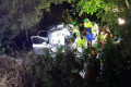 Trapped woman rescued 17 hours after crashing into creek