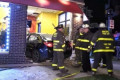 Police: Drunk off-duty police officer crashes into restaurant, kills woman
