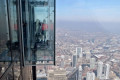 Cracks appear on floor of glass viewing platform in Chicago's Willis Tower