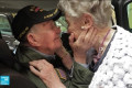 'You never got out of my heart': American veteran, 97, and French woman, 92, who fell in love when he was stationed there during World War II meet again 75 years later in emotional reunion