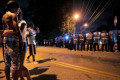 Memphis protesters hurl bricks and rocks at police, wounding 25 officers in outrage over a man's death