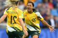 Sam Kerr's emotional message for 'haters'