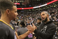 'Y'all deserve it, man.' Steph Curry and Drake FaceTime in wake of Raptors Game 6 triumph
