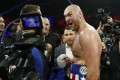 Ever the entertainer, Tyson Fury doesn't miss a thing in Las Vegas debut