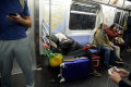 Shelter in a subway storm: As MTA delays caused by homeless increase, the city's response falls short