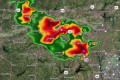 LIVE: Midweek storms threaten tornadoes, very large hail in south-central US