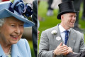 Mike Tindall cracks the Queen up with top hat joke