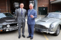 The name's Charles... Prince of Wales meets Daniel Craig on visit to Bond set at Pinewood studio - and gets to check out his famous Aston Martin