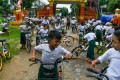 Ride on time: Recycled bikes get Myanmar kids to school