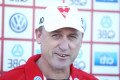 John Longmire: Dermott Brereton amazed at Sydney coach's choice of words