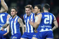 In-form Roos topple St Kilda in Hobart AFL
