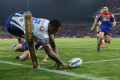 NRL match officials criticised after controversial Warriors win