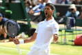 Djokovic moves one step away from fifth Wimbledon title