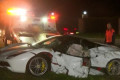 $300k Ferrari abandoned after high-speed crash
