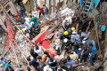 Mumbai building collapse: Dozens trapped in four-storey block