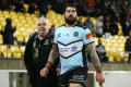 Warriors v Sharks: Andrew Fifita sin-binned for brutal off-ball shot on Lachlan Burr