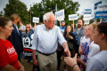 Bernie Sanders responds to complaints staff don't earn $15 an hour