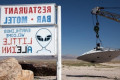 No vacancies left at alien-themed motel near Area 51 on 'storm' weekend