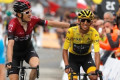 At 22, Egan Bernal all but secures Colombia's 1st Tour win