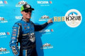 'Gnarly' performance puts Kevin Harvick on Pocono pole