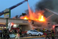 Crews battling fire that spread to several businesses in Penn Hills