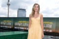 Margot Robbie Channeled Belle in a Stunning Pale Yellow Maxidress