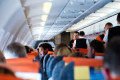 EasyJet says photo of passenger made to fly with no seatback is staged