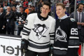Sidney Crosby and Nathan MacKinnon tearing it up in summer practice
