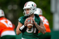 Report: Tate Martell a no-show at Miami's practice Monday