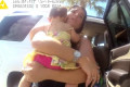 Mother shares frantic video of baby daughter being rescued from hot car