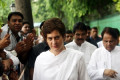 Priyanka Gandhi visits Sonbhadra, calls scrapping of Article 370 unconstitutional