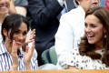 Meghan pictured with future sister-in-law Kate in newly-resurfaced photo