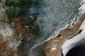 Amazon rainforest fires: Smoke can be seen from space