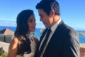 James Stewart and Sarah Roberts' second wedding ceremony
