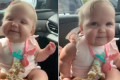 Adorable Baby Busts a Move to Jonas Brothers' 'Sucker' While Holding a French Fry