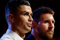 'We have not had dinner yet but I hope so in the future': Cristiano Ronaldo reminisces about battles with rival Lionel Messi during award ceremony