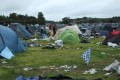 Hundreds of tents abandoned by Electric Picnic revellers but organisers say it's a 'definite improvement'