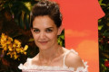 Katie Holmes Is Wearing a Trench Coat, So It's Officially Fall