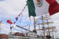'Ireland and Mexico share a long history' - President Higgins practices his Spanish as he welcomes tall ship crew to Dublin