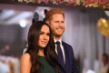 The BBC accidentally used a photo of Meghan Markle and Prince Harry's waxwork figures instead of them during a live news segment