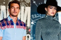 Gigi Hadid and Tyler Cameron Both Attend Tommy Hilfiger Fashion Show After Trip to the Netherlands