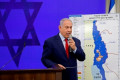 Netanyahu whisked offstage at campaign rally after rockets fired from Gaza Strip