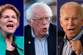 CNN Poll: Biden leads as Warren and Sanders battle for second on eve of debate