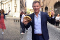 Giada De Laurentiis And Bobby Flay Are In Italy Working On A Secret Project Right Now