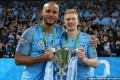 Kevin De Bruyne promises to join Vincent Kompany at Anderlecht when he leaves Manchester City...but he may have to wait another SEVEN years