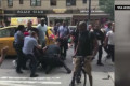 Teen Struck By Taxi In Midtown, Triggering Melee Between Police And Students, 4 Arrested