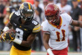 Iowa-Iowa State rivalry battle delayed by lightning