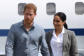 Prince Harry and Meghan Markle spotted arriving in Rome for Misha Nonoo's wedding without baby Archie