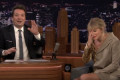 Taylor Swift Cries Over a Banana in 'Fallon' Clip