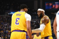 Count Magic Johnson among those impressed with LeBron and AD's 1st game